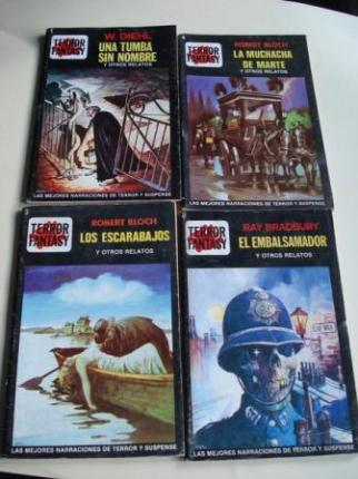 LOTE Números 1 - 2 - 3 - 4 de la Colección Terror Fantasy (Editorial Edipint, S. A.).  - Ver los detalles del producto