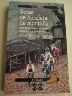 Ver os detalles de:  Rotas de bicicleta de montaña. Itinerarios, mapas, esquemas, perfís, planos e fotografías
