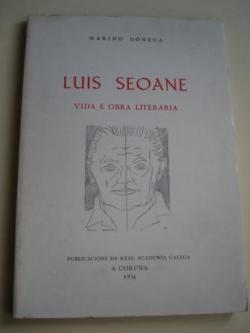 Ver os detalles de:  Luis Seoane. Vida e obra literaria
