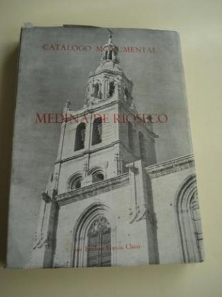 Medina de Ríoseco. Catálogo monumental. TOMO I - Ver os detalles do produto
