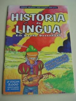Ver os detalles de:  História da língua galega em banda desenhada. Inclui Guía de leitura e índice cronológico