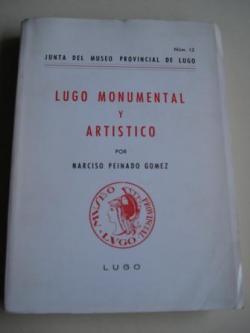 Ver os detalles de:  Lugo monumental y artístico - Nº 12