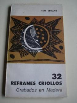 Ver os detalles de:  32 refranes criollos. Grabados en madera