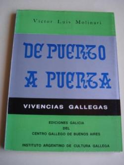 Ver os detalles de:  De puerto a puerta. Vivencias gallegas