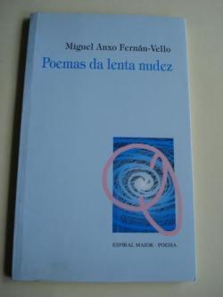 Ver os detalles de:  Poemas da lenta nudez