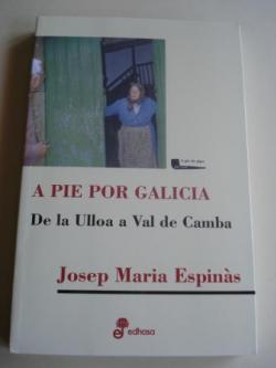 Ver os detalles de:  A pie por Galicia. De la Ulloa a Val de Camba