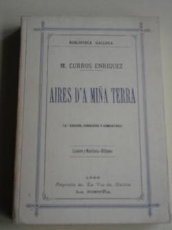 Ver os detalles de:  Aires d´a miña terra (Edición facsímil da 3ª edición)