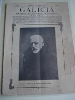 Ver os detalles de:  Galicia. Revista quincenal Ilustrada. Número 9. Madrid, 1º de mayo,1908