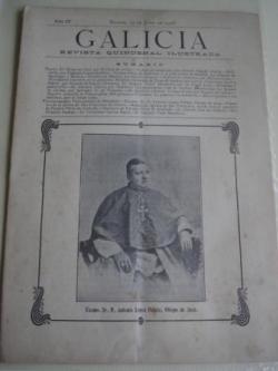 Ver os detalles de:  Galicia. Revista quincenal Ilustrada. Número 12. Madrid, 15 de junio,1908