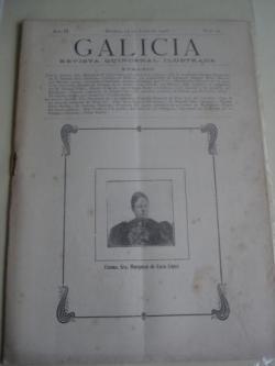 Ver os detalles de:  Galicia. Revista quincenal Ilustrada. Número 14. Madrid, 15 de julio,1908