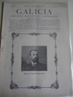 Ver os detalles de:  Galicia. Revista quincenal Ilustrada. Número 19. Madrid, 1º de octubre,1908