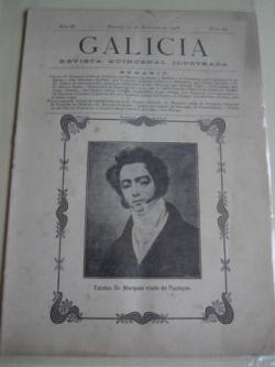 Ver os detalles de:  Galicia. Revista quincenal Ilustrada. Número 20. Madrid, 15 de octubre,1908