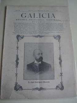 Ver os detalles de:  Galicia. Revista quincenal Ilustrada. Número 23. Madrid, 1º de diciembre,1908