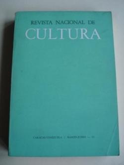 Ver os detalles de:  REVISTA NACIONAL DE CULTURA. Nº 145-146. MARZO-JUNIO 1961. CARACAS-VENEZUELA
