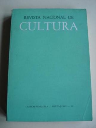 REVISTA NACIONAL DE CULTURA. Nº 145-146. MARZO-JUNIO 1961. CARACAS-VENEZUELA - Ver os detalles do produto