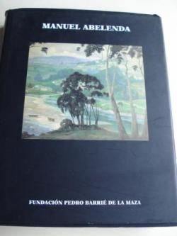 Ver os detalles de:  MANUEL ABELENDA (1889-1957). Catálogo exposición Fundación Pedro Barrié de la Maza. Catalogación Arqueológica y Artística del Museo de Pontevedra. Mayo-Julio 1998. Textos: Adolfo de Abel Vilela