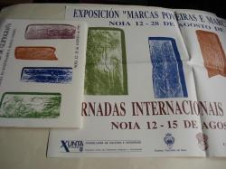 Ver os detalles de:  Actas das Xornadas Internacionais de Gliptografía. Libro + carpetas dos asistentes + cartel