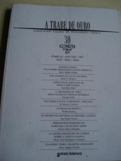 Ver os detalles de:  A TRABE DE OURO. Publicación galega de pensamento crítico. Nº 30 - Abril-maio-xuño,1997