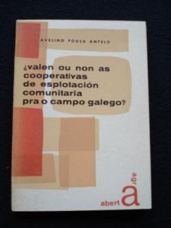 Ver os detalles de:  ¿Valen ou non as cooperativas de esplotación comunitaria pra o campo galego?
