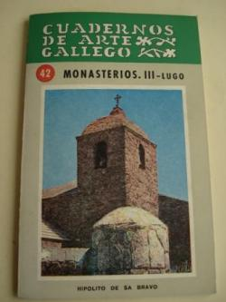 Ver os detalles de:  Cuadernos de Arte Gallego, nº 42 : Monasterios III - Lugo